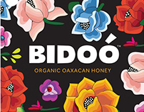 Bidoó Honey Package and Brochure Design