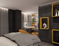 Teenage room interior
