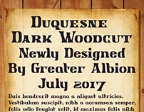 Duquesne Dark Woodcut