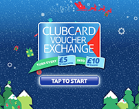 Tesco Christmas Clubcard Animation