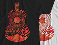 T-Shirts Lion Tribe | Guitarra Étnica