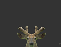 Polygon Deer
