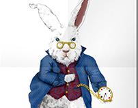 """Alice's rabbit """"Tick-tock"""""""