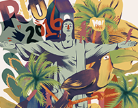 PATTERN CARNIVAL RIO DE JANEIRO 2016