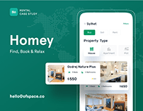 Homey | Find, Book & Relax