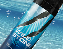 Packaging for Wild Stone Aqua Fresh