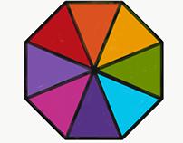 Octagonal Rainbow Mandala