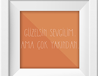Low Poly Cemal Süreya-Turkish Poetry
