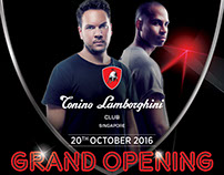 Tonino Lamborghini Club, Grand Opening