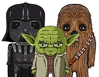 Star Wars with Ipad