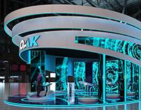 ОАК - media installation concept
