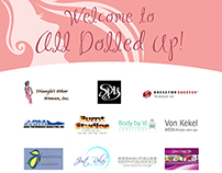 All Dolled Up - Sponsor Board
