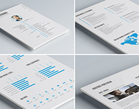 Creative Resume for Creatives / Filmmakers / Designers