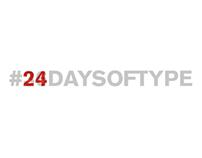 24daysoftype