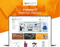Ev Marketi - E-commerce UI