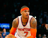 Carmelo Anthony | NBA New York Knicks Poster