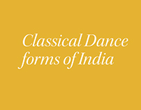 CLASSICAL DANCE FORMS OF INDIA - Booklet Design