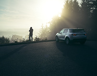 Land Rover Discovery with Lisa Linke