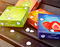 Jake vitamincandy / Packaging Design