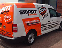 Smart Repair Van Wrap