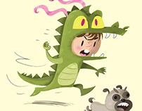 Dragon Boy & Pug