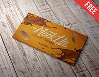 Chocolate Packaging - Free PSD Mockup