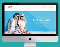 E commerce - Fashion Mock Website