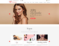 Beauty studio web dsign