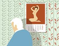 Male Menopause, La Repubblica Salute Cover