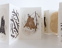 "Artist's book ""Stumps and twigs"""