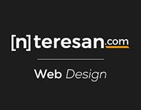 [n]teresan.com // Web Design