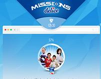 Mission Délice - Expérience Digitale en Ligne