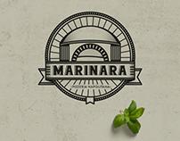 Pizzeria brand identity