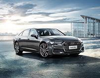 Audi A6 beautyshot