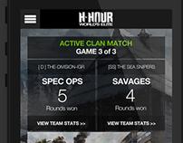 H-Hour App Concept