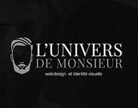 L'univers de Monsieur - Webdesign