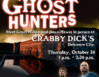 Ghost Hunters Poster - Fort Delaware