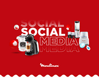 Moulinex - Social Media