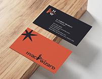 HVAC Wizard — Visual Identity Design