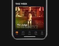 Cinema Mobile App Concept