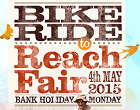 Reach Ride Poster/leaflet