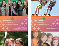 Girl Scouts of Eastern Mass. - Pop Up Banners - 2015