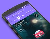 Material Design - Bookmyshow App