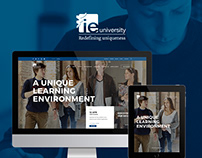 IE University Responsive Website
