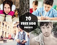 20 Free HDR Pro Lightroom Presets