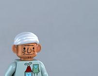 LEGO MO BMO minifig