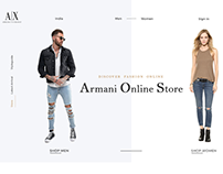 Armani Exchange New Concept Design