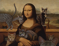 Mona with Cats | IndyFeral