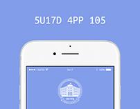 SUITD App - iOS