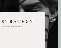 Strategy Presentation Template